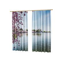 Фотошторы для гостиной: Сиреневая ветвь