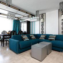 Фотография: Гостиная в стиле Современный, Эклектика, Классический, Квартира, Проект недели – фото на InMyRoom.ru
