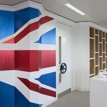 Фотография:  в стиле Эклектика, Офисное пространство, Офис, Дома и квартиры, Проект недели – фото на InMyRoom.ru