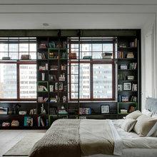 Фотография: Спальня в стиле Лофт, Кухня и столовая, Гардеробная, Эклектика, Декор интерьера, Квартира, Мебель и свет, Минимализм – фото на InMyRoom.ru