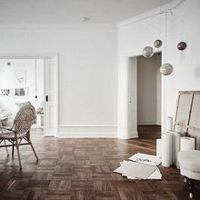 Фотография: Кабинет в стиле Скандинавский, Декор интерьера, Квартира – фото на InMyRoom.ru