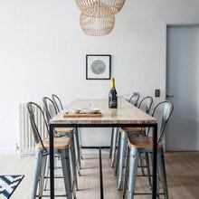 Фото из портфолио Монохромная квартира в скандинавском стиле в Лондоне – фотографии дизайна интерьеров на InMyRoom.ru