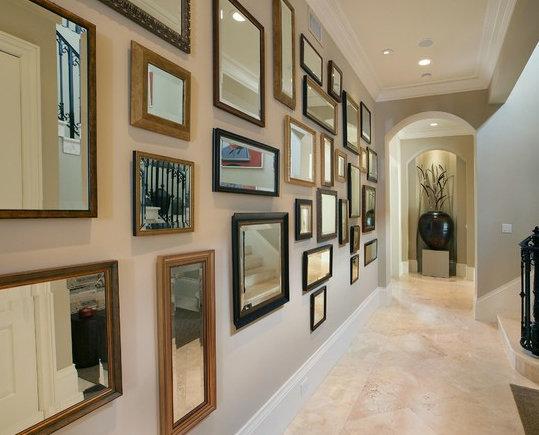 Фотография: Прихожая в стиле Современный, Декор интерьера, Декор дома, Цвет в интерьере, Обои – фото на InMyRoom.ru