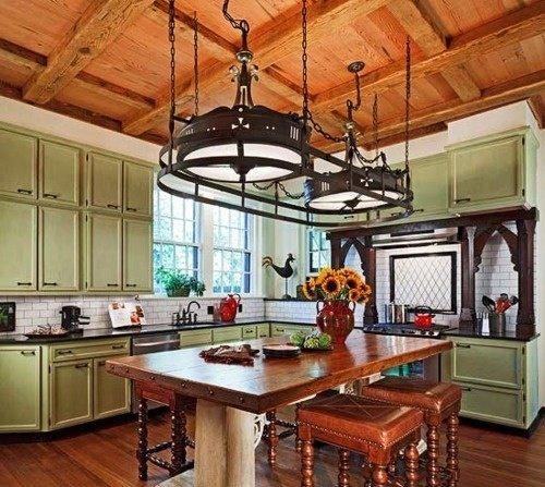Фотография: Кухня и столовая в стиле , Классический, Дизайн интерьера, Викторианский, Ампир – фото на InMyRoom.ru