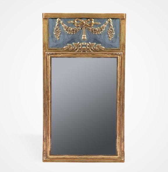 Купить Зеркало в золотой состаренной раме, inmyroom, Китай