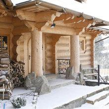 Фотография: Терраса в стиле Кантри, Эко, Дом, Дома и квартиры – фото на InMyRoom.ru