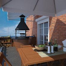 Фото из портфолио Квартира с террасой для отдыха – фотографии дизайна интерьеров на InMyRoom.ru
