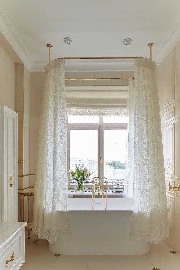 Фото из портфолио Дизайн квартиры в классическом стиле на Остоженке – фотографии дизайна интерьеров на INMYROOM