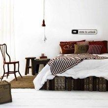 Фотография: Спальня в стиле Скандинавский, Лофт, Индустрия, Люди, Греция – фото на InMyRoom.ru