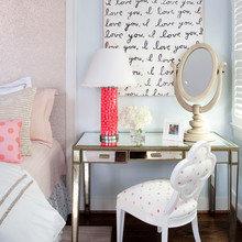 Фотография: Спальня в стиле Кантри, Кабинет, Интерьер комнат – фото на InMyRoom.ru