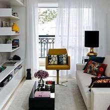 Фотография: Гостиная в стиле Скандинавский, Спальня, Декор интерьера, Интерьер комнат – фото на InMyRoom.ru