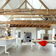 Фото из портфолио Перевоплощение голландского сарая – фотографии дизайна интерьеров на InMyRoom.ru