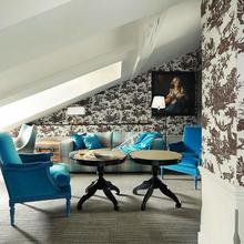 Фотография: Гостиная в стиле Современный, Спальня, Франция, Дома и квартиры, Городские места, Отель – фото на InMyRoom.ru