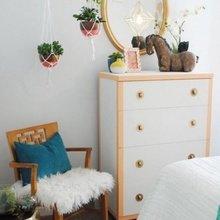 Фотография: Спальня в стиле Скандинавский, Малогабаритная квартира – фото на InMyRoom.ru