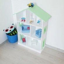 Кукольный дом Manchester (зеленая крыша)