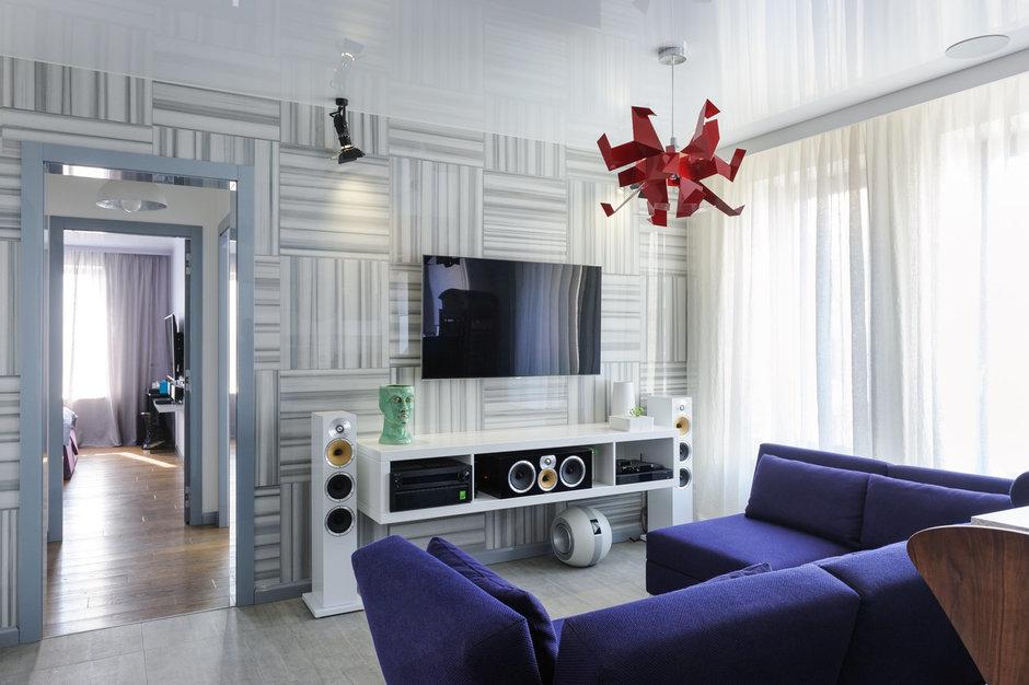 Фотография: Гостиная в стиле , Лофт, Квартира, Дома и квартиры, Проект недели, Поп-арт – фото на InMyRoom.ru