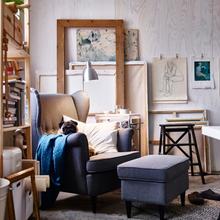 Фото из портфолио Творческая студия : идеи от IKEA – фотографии дизайна интерьеров на INMYROOM
