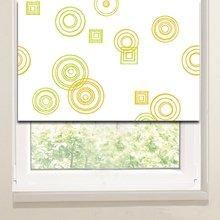 Рулонные шторы в офис: Геометрические фигуры
