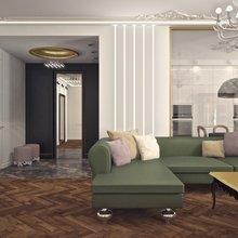 Фото из портфолио Квартира на Кирочной ул. – фотографии дизайна интерьеров на INMYROOM