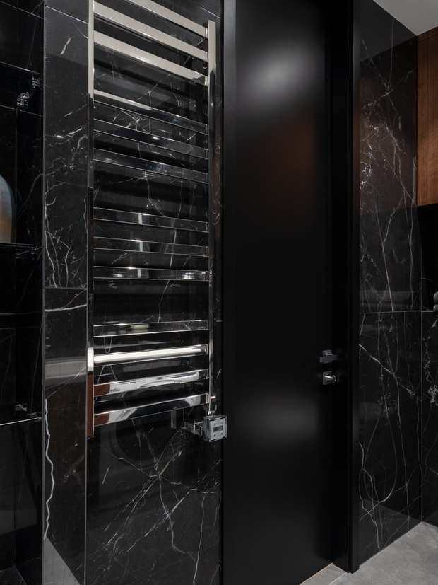 Фотография: Ванная в стиле Современный, Квартира, Минимализм, Проект недели, Москва, 2 комнаты, 40-60 метров, Анна Смолякова – фото на INMYROOM