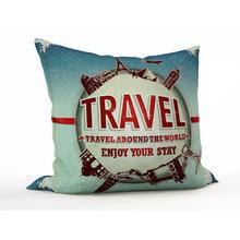 Дизайнерская подушка: Кругосветное путешествие