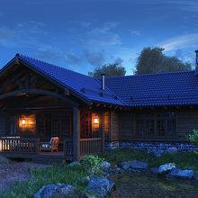 Фото из портфолио Home in the Woods – фотографии дизайна интерьеров на INMYROOM
