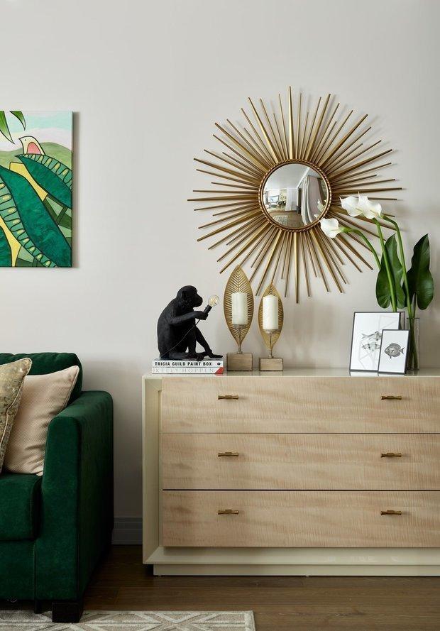 Фотография: Гостиная в стиле Современный, Эклектика, Декор интерьера, Панельный дом, Елена Маркина – фото на INMYROOM