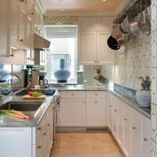 Фотография: Кухня и столовая в стиле Скандинавский, Малогабаритная квартира, Квартира, Декор, Советы – фото на InMyRoom.ru