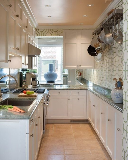 Фотография: Кухня и столовая в стиле Скандинавский, Малогабаритная квартира, Квартира, Декор, Советы, Хрущевка – фото на InMyRoom.ru