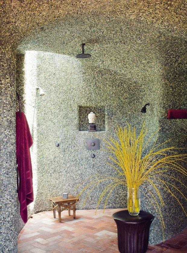 Фотография: Ванная в стиле Прованс и Кантри, Современный, Дома и квартиры, Интерьеры звезд – фото на InMyRoom.ru