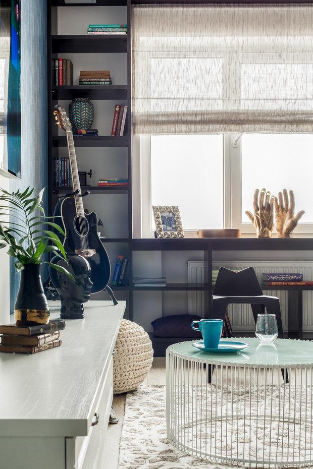 Фотография: Гостиная в стиле Эклектика, Советы, как сделать интерьер уютнее, уют дома, как создать уютную атмосферу, Leroy Merlin – фото на INMYROOM