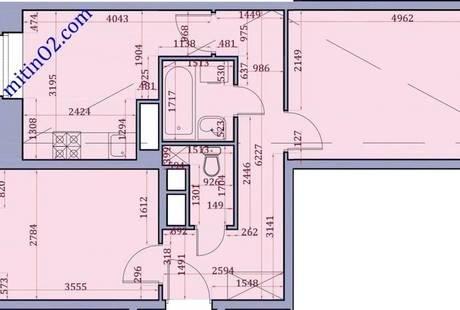 Сложности с проектированием кухни и ванной с туалетом