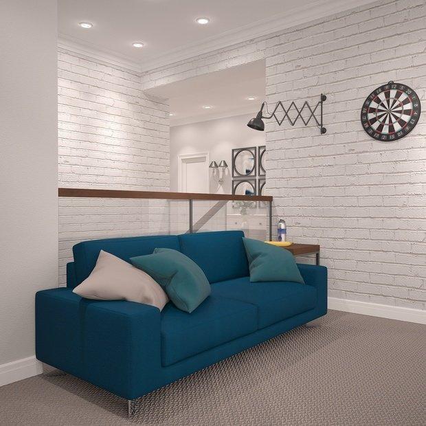 Фото из портфолио Двухуровневая Квартира в Академгородке  – фотографии дизайна интерьеров на INMYROOM