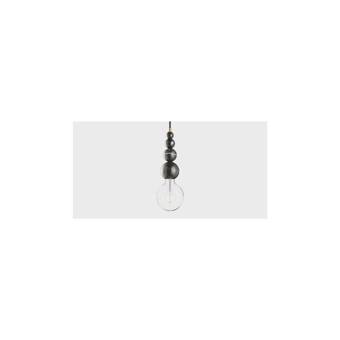 Подвесной светильник Marmor Slipp nero, Черный