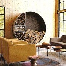 Фотография: Гостиная в стиле Кантри, Декор интерьера, DIY, Дом, Декор дома, Камин – фото на InMyRoom.ru