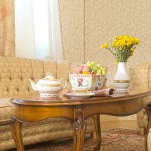 Фотография: Гостиная в стиле Кантри, Классический, Современный, Декор интерьера, Мебель и свет, Марат Ка – фото на InMyRoom.ru