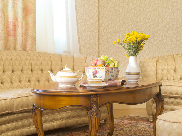Фотография: Гостиная в стиле Прованс и Кантри, Классический, Современный, Декор интерьера, Мебель и свет, Марат Ка – фото на InMyRoom.ru