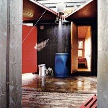 Фотография: Ванная в стиле Кантри, Современный, Дом, Ландшафт, Стиль жизни, Дача – фото на InMyRoom.ru