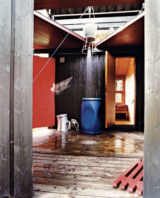 Фотография: Ванная в стиле Прованс и Кантри, Современный, Дом, Ландшафт, Стиль жизни, Дача – фото на InMyRoom.ru