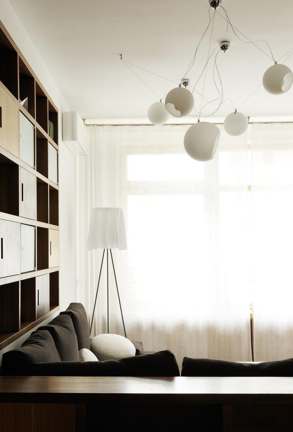 Фотография: Гостиная в стиле Современный, Эклектика, Квартира, Calligaris, Дома и квартиры – фото на InMyRoom.ru