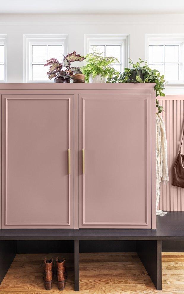 Фото из портфолио Болгарский розовый – фотографии дизайна интерьеров на INMYROOM