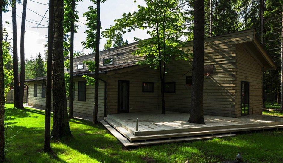 Фотография: Архитектура в стиле , Дом, Дома и квартиры, Проект недели, Дача, dom-iz-brusa – фото на InMyRoom.ru