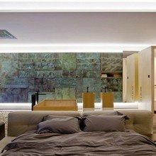 Фотография: Спальня в стиле Лофт, Квартира, Мебель и свет, Дома и квартиры, Пентхаус, Киев – фото на InMyRoom.ru