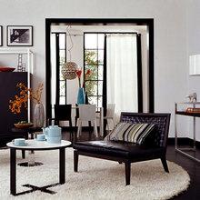 Фотография: Гостиная в стиле Современный, Декор интерьера, Дизайн интерьера, Цвет в интерьере – фото на InMyRoom.ru