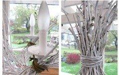 Фотография:  в стиле , Декор интерьера, DIY, Мебель и свет, Переделка, Люстра – фото на InMyRoom.ru