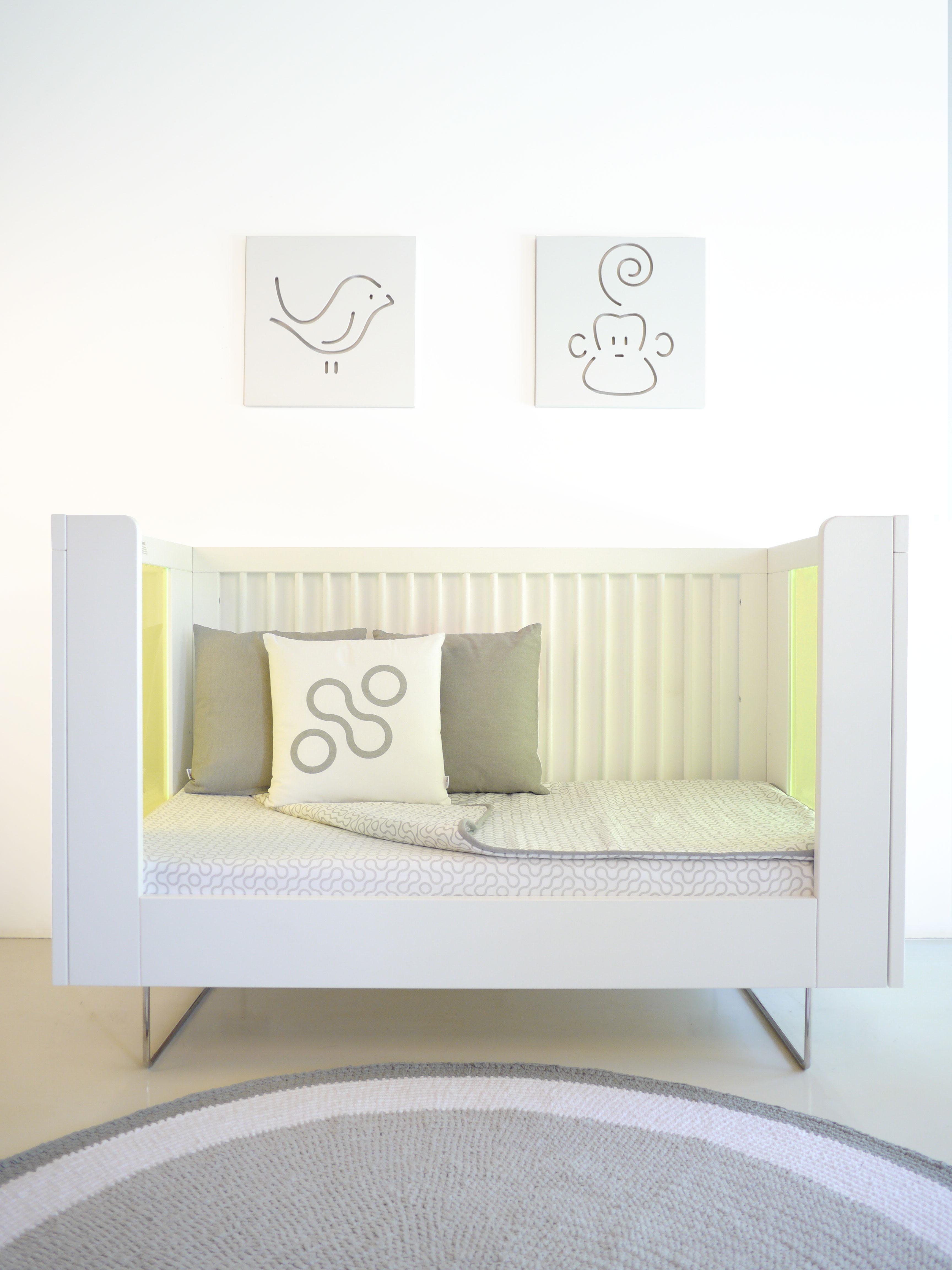 Кроватка Alto Kiwi Translucent Acrylic Spot on Square