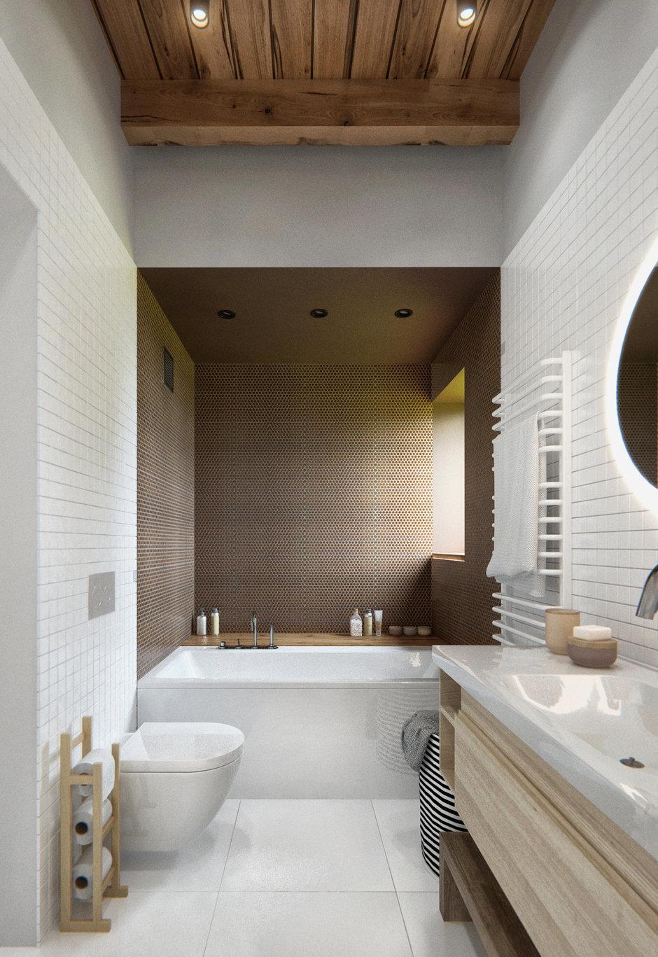 Фотография: Ванная в стиле Лофт, Современный, Дом, Дома и квартиры, IKEA, Проект недели – фото на InMyRoom.ru