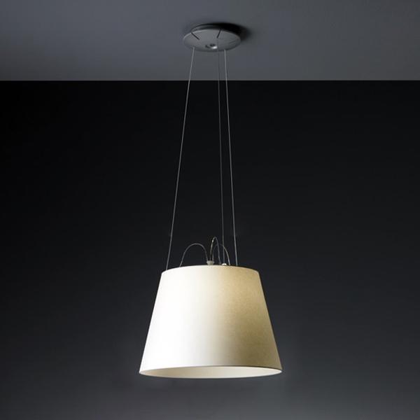 Купить Подвесной светильник Artemide Olomeo с абажуром из пергаментной бумаги, inmyroom, Италия