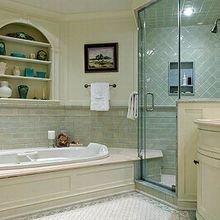 Фотография: Ванная в стиле Кантри, Квартира, Дом, Декор, Советы, Ремонт на практике – фото на InMyRoom.ru