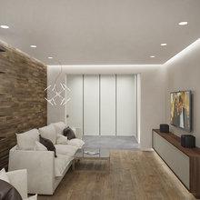 Фото из портфолио Дизайн интерьера квартры – фотографии дизайна интерьеров на INMYROOM